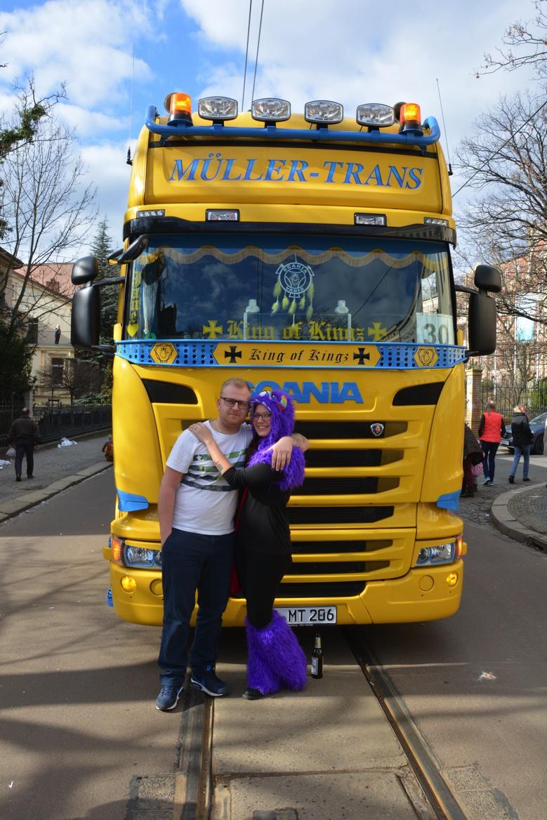 Unsere Trucker Babes