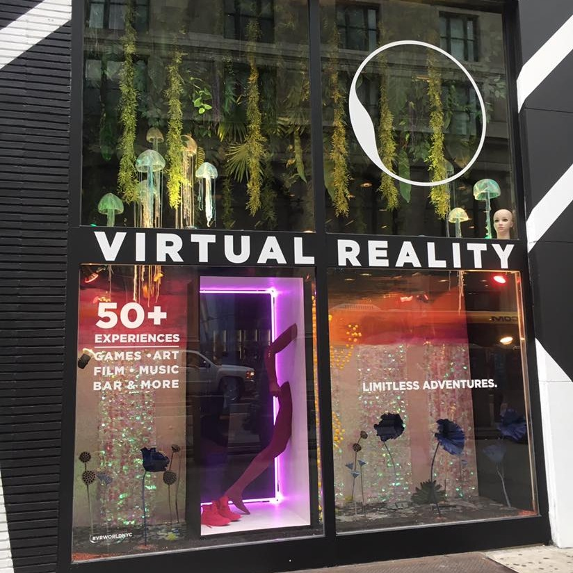 """Virtually Real"" at VR World NYC"