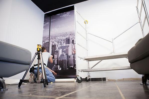 Impression numérique et installation de murales à Québec - commander en ligne