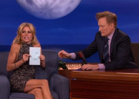 Julie Bowen on Conan