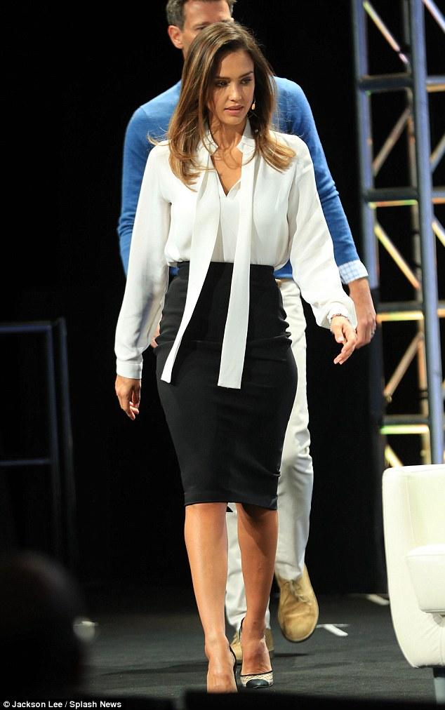 Jessica Alba wears Colton Dane