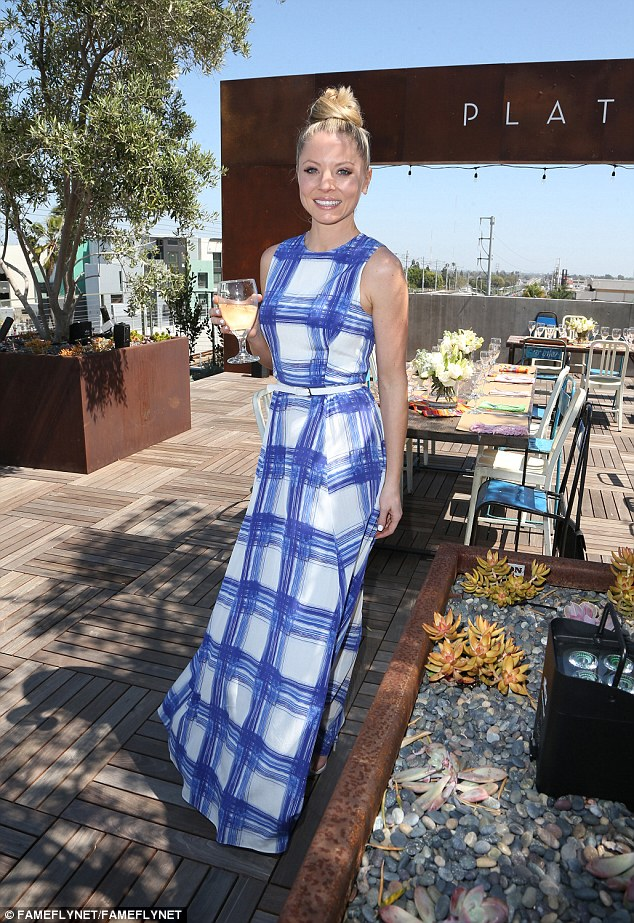 Kaitlin Doubleday wears Spring 16