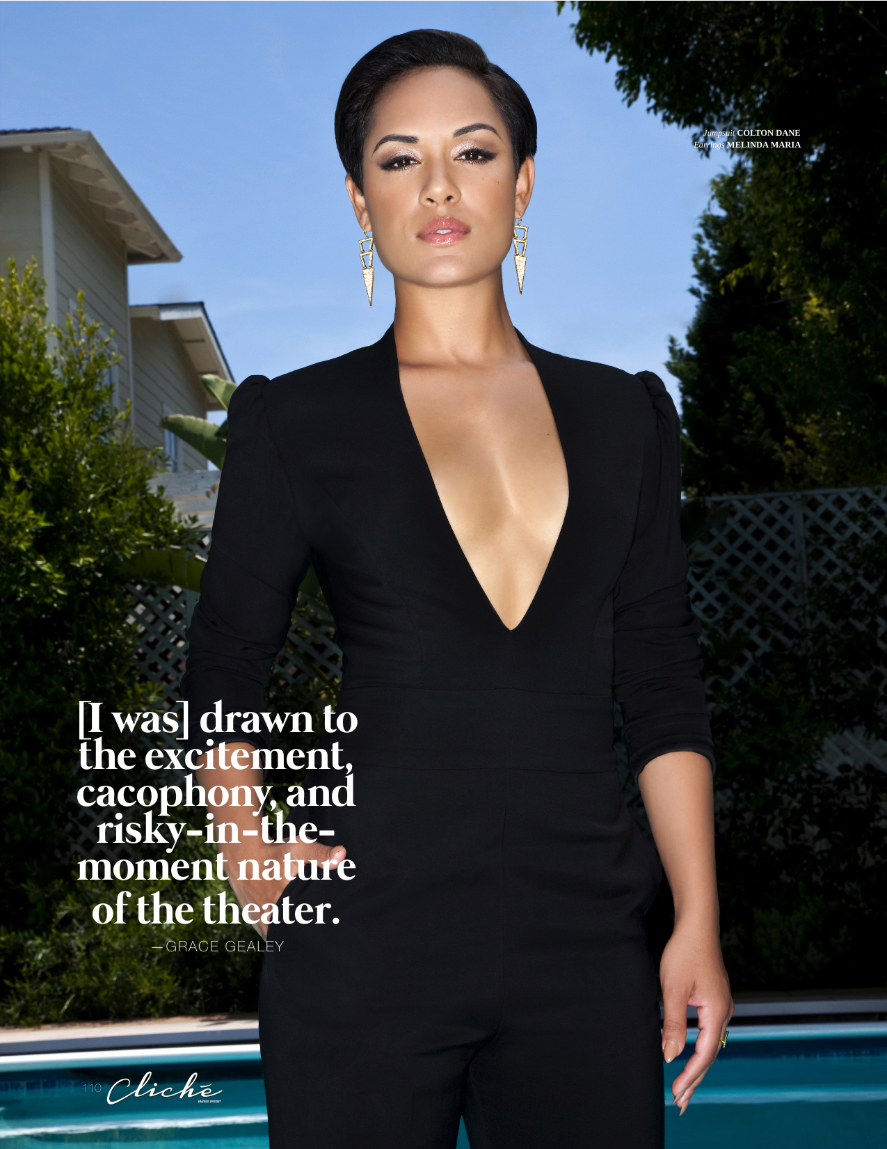 Cliche Magazine - Grace Gealey
