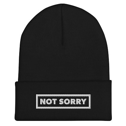 Not Sorry Beanie