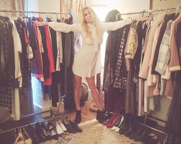 Kesha Wears Spring 15 Blouse Dress