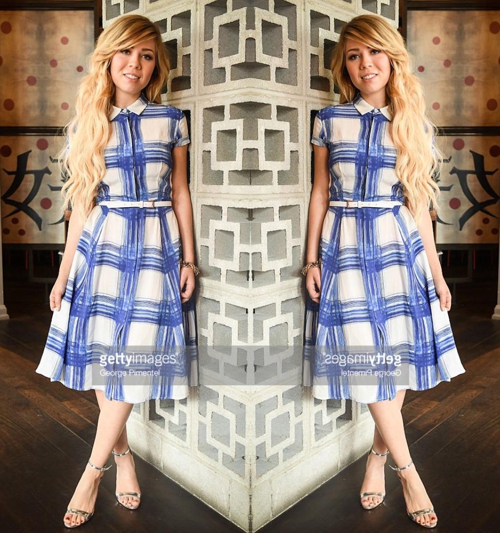 Jennette Mccurdy Wears Spring 16