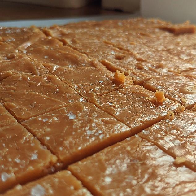 Salted Maple Fudge Slab
