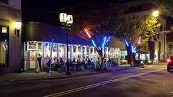 Eating Under the Lights at RiverRun