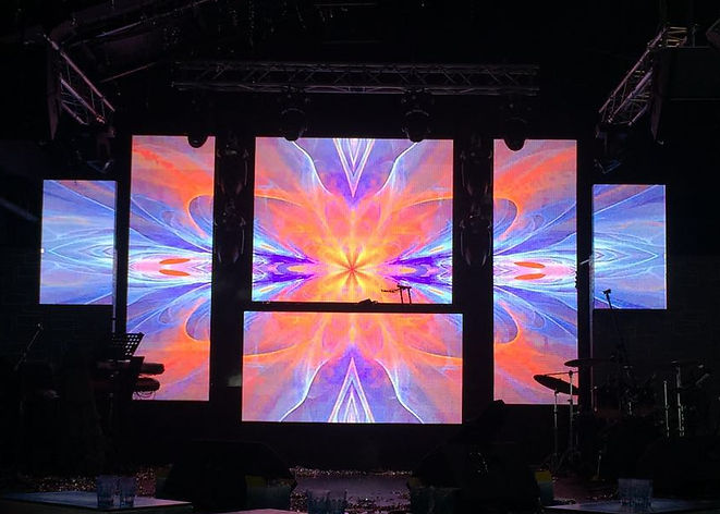LED Wall project- club illusion
