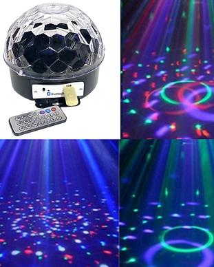 LED Dream Crystal Ball
