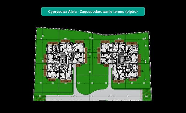 Zagospodarowanie terenu (piętro)