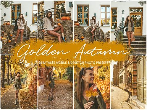 """Jesienne presety Adobe Lightroom """"Golden Autumn"""""""