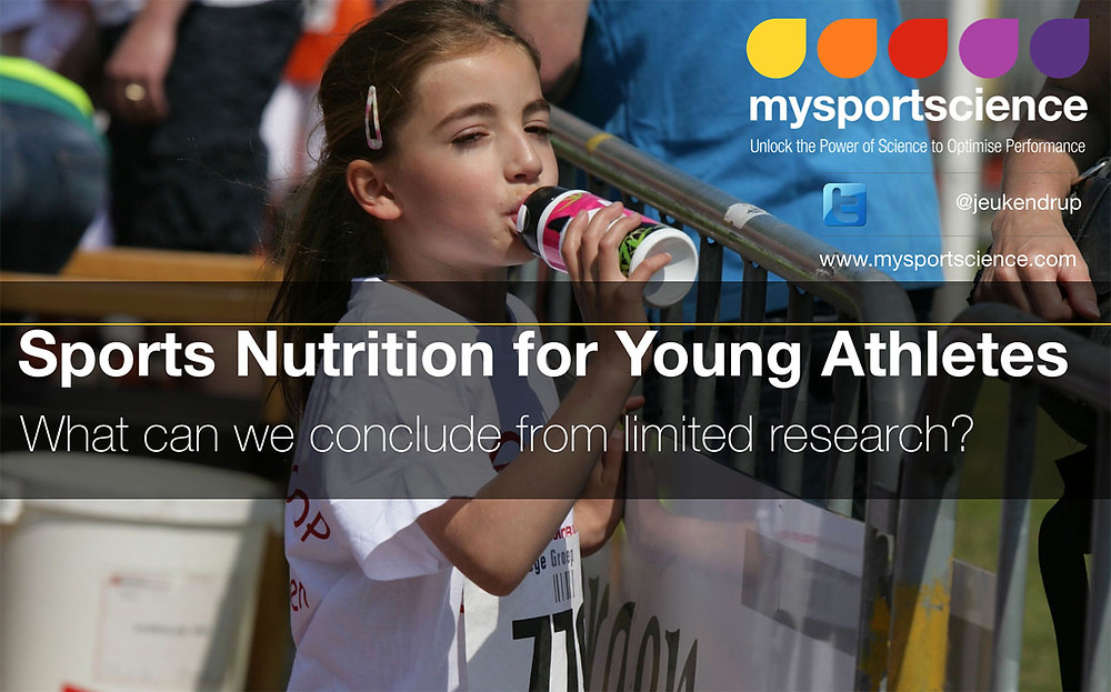 Young athletes sports nutrition
