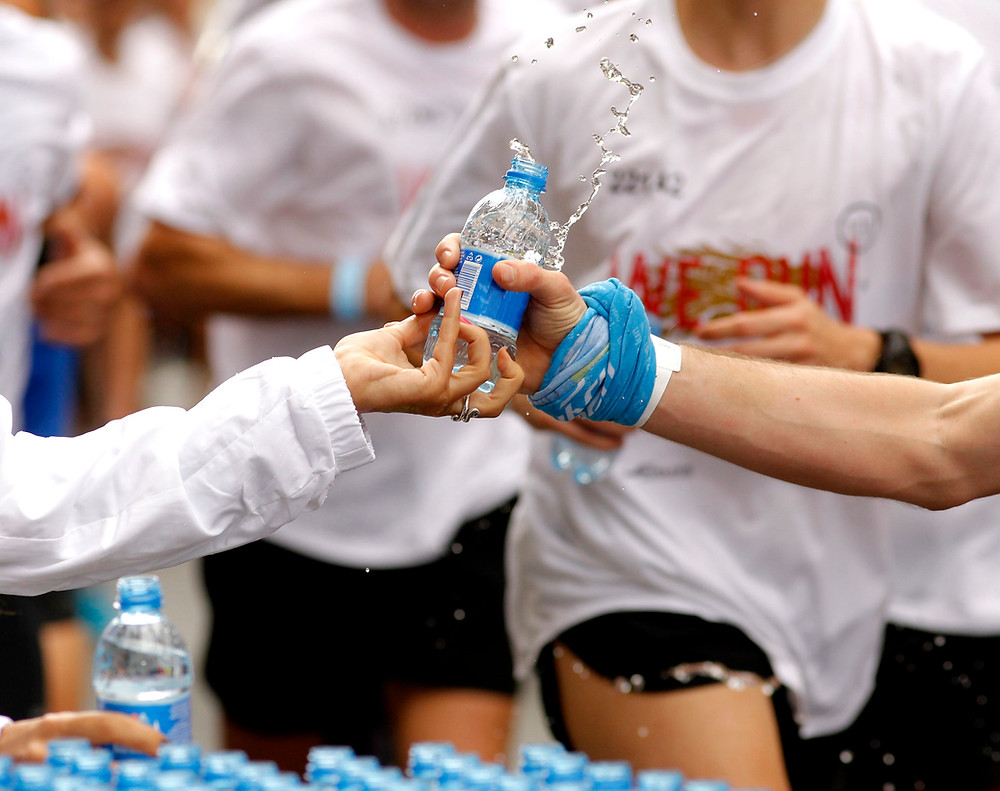 Hydration during exercise