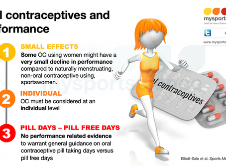 Oral contraceptives and performance