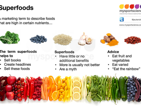 The myth of superfoods