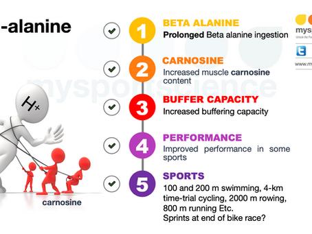 Beta alanine supplementation