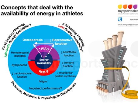 What is low energy availability in athletes?