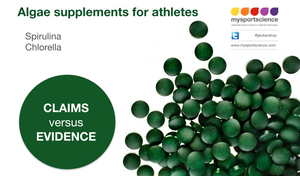 Algae spirulina chlorella supplements for athletes