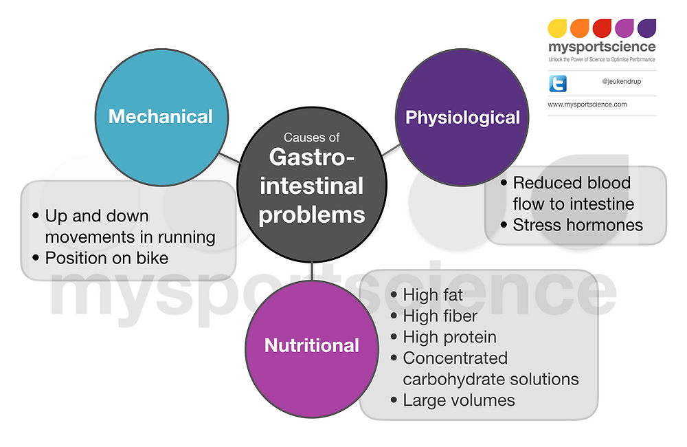 Gastrointestinal problems in athletes