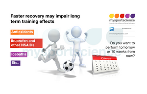 Faster recovery may impair long term adaptation