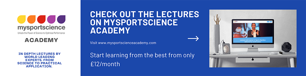 Lectures on mysportscience academy