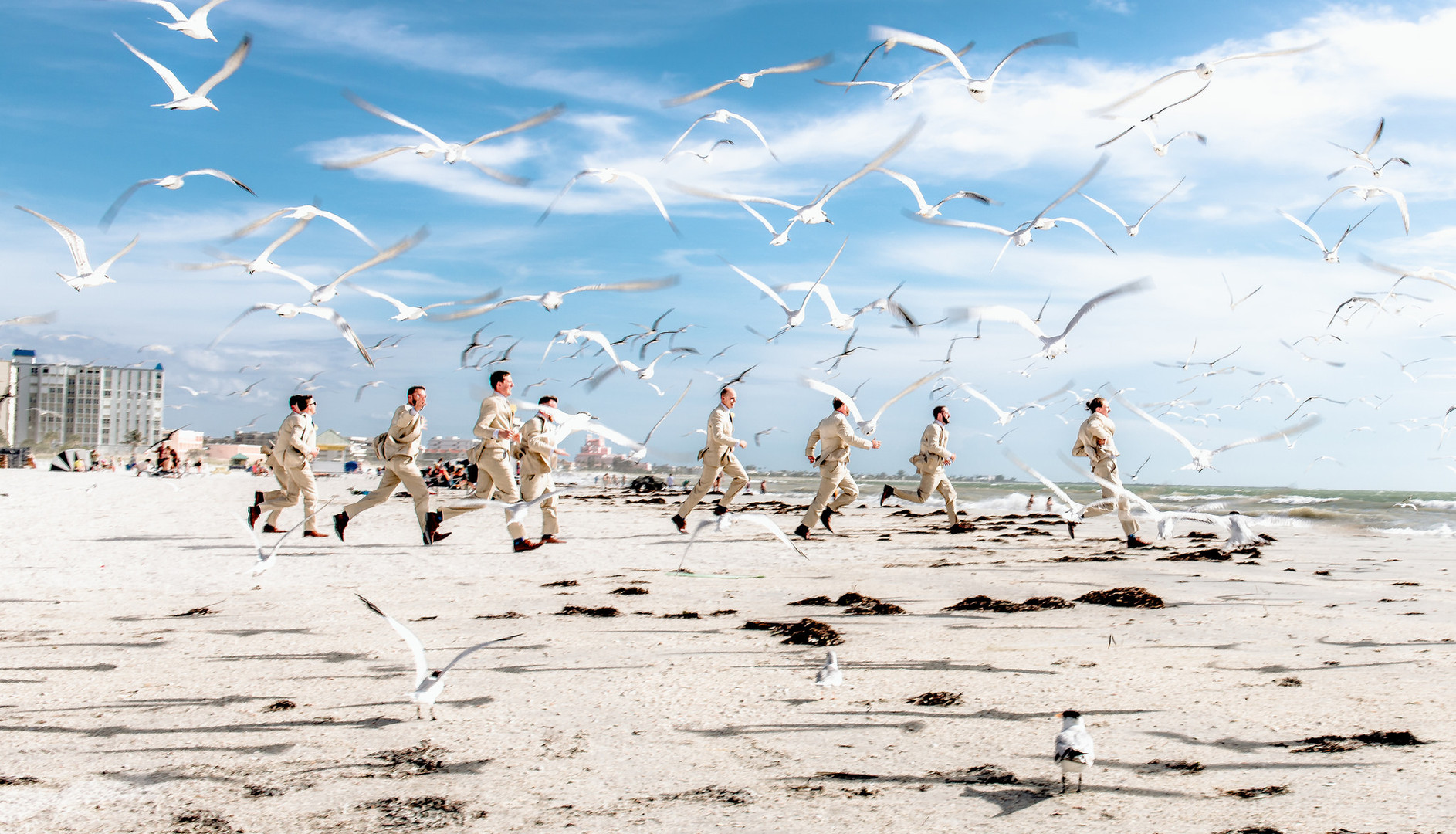 florida beach wedding sandpearl resort photographer videographer