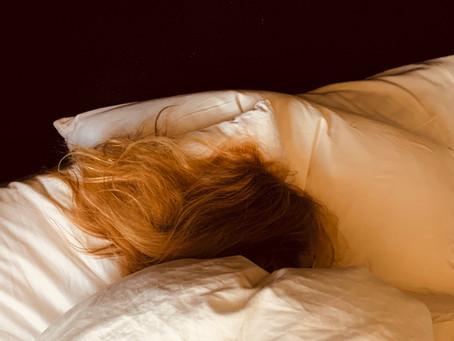 Nachts liege ich oft wach...
