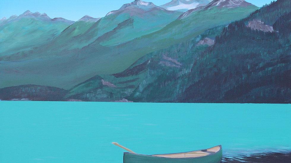 Green Lake and Canoe BC
