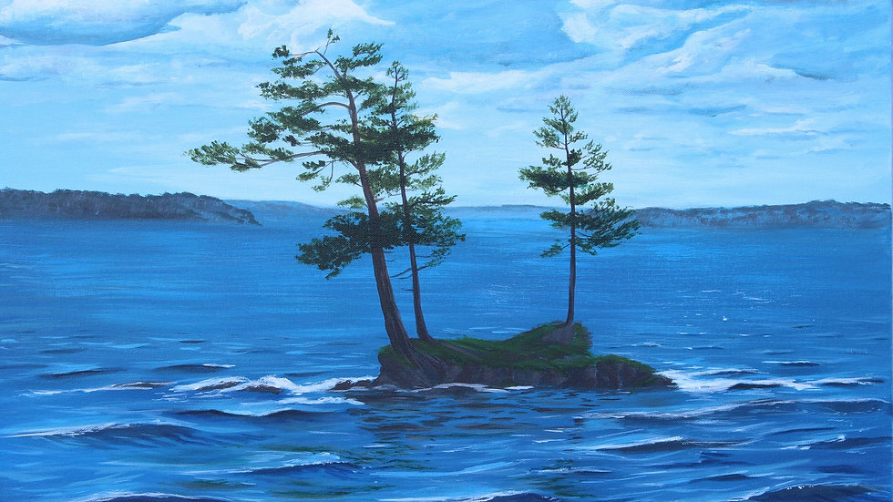 Three pines at Murphy's Point