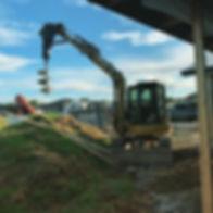 Monday morning drilling in Waiuku .600d