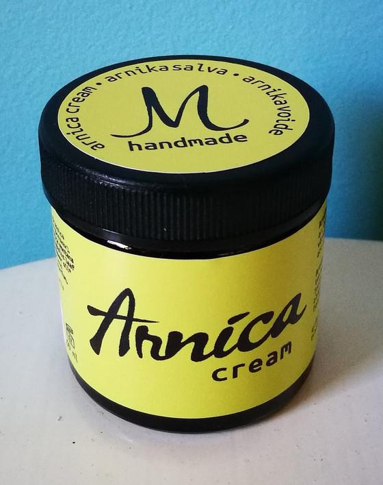 Arnica cream ute nu! /Uusi tuote Arnica cream!