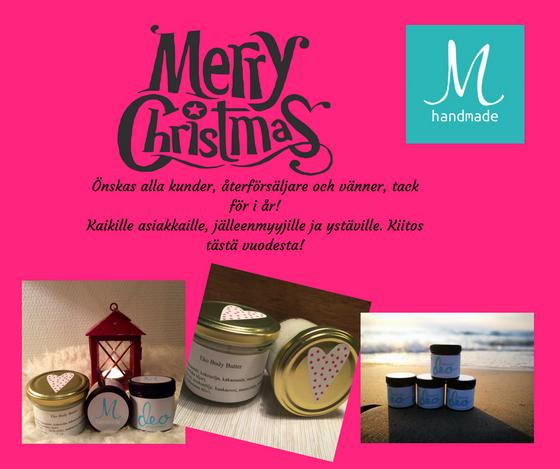 God Jul / Hyvää Joulua / Merry Christmas!