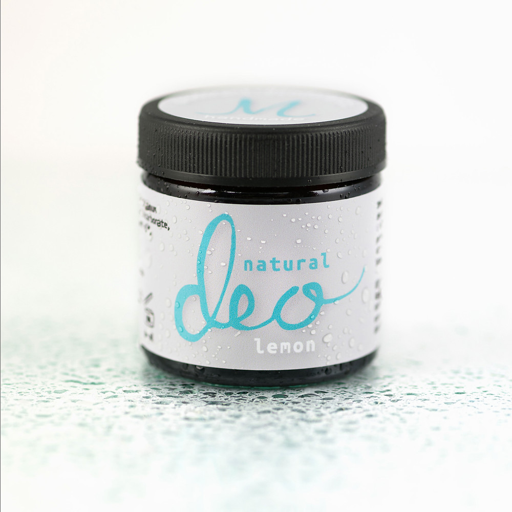 Natural Deo Lemon aluminiumfri