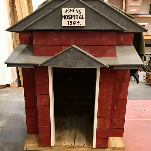 Miners Hospital Doghouse
