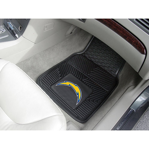 San Diego Chargers Rubber Floor Mats (2)