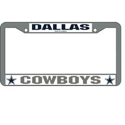 Dallas Cowboys NFL Chrome License Plate Frame