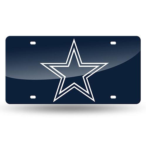Dallas Cowboys Laser Cut License Plate Tag
