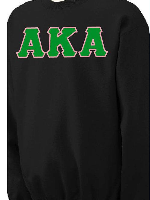 Alpha Kappa Alpha Fleece Crewneck Sweatshirt