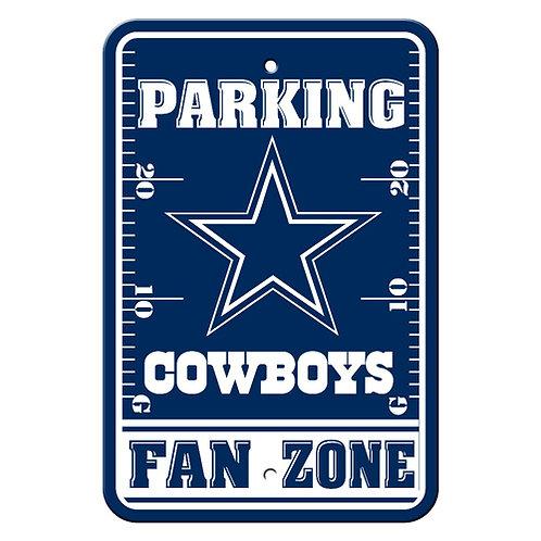 Dallas Cowboys NFL Plastic Parking Sign