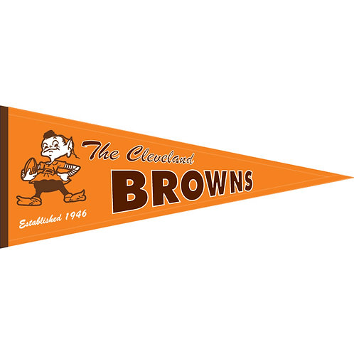 Cleveland Browns Throwback Pennant (13x32)