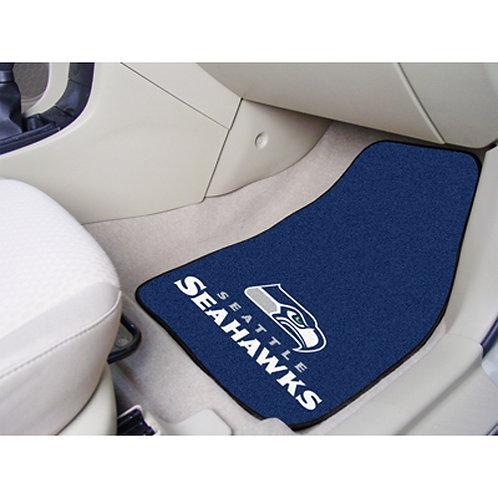 Seattle Seahawks Floor Mats (2)
