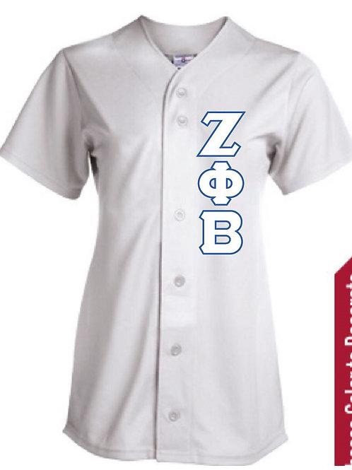 Zeta Phi Beta Baseball Jersey