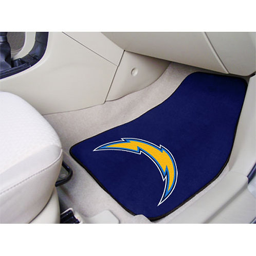 San Diego Chargers Floor Mats (2)