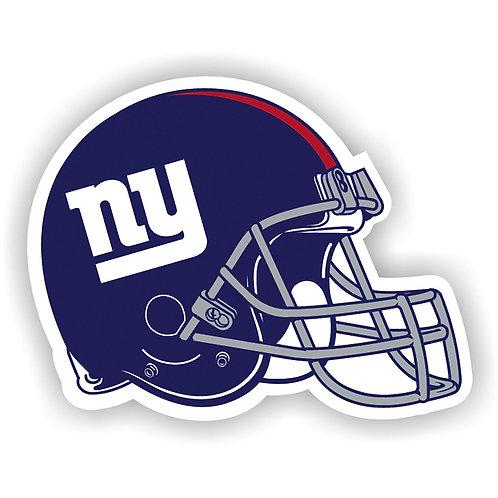 """New York Giants 12"""" vinyl helmet magnet"""