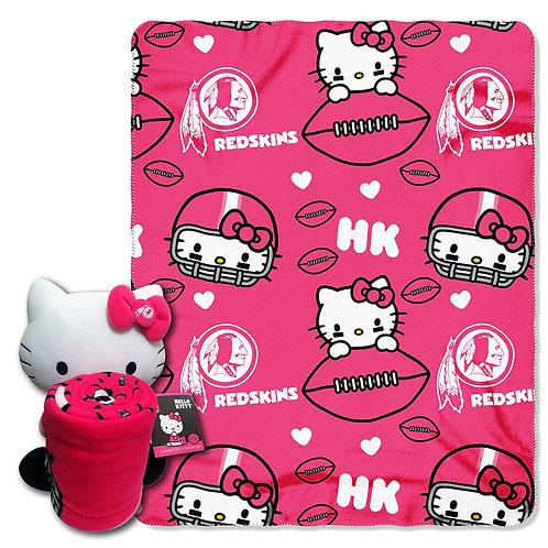Washington Redskins Hello Kitty Throw Combo