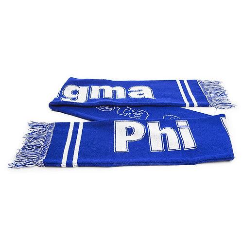Phi Beta Sigma Knit Scarf