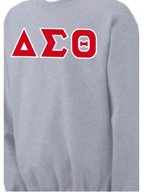 Sports Gray DST Fleece Crewneck Sweatshirt
