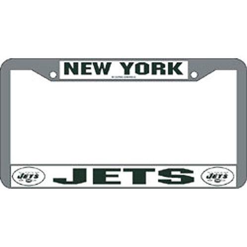 New York Jets NFL Chrome License Plate Frame