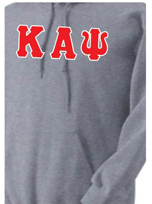 Sports Gray Kappa Fleece Hoody